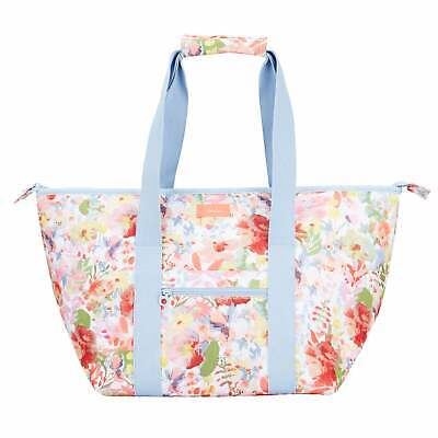 Joules Picnic Carrier Unisex Bag Lunch - White Floral One Size