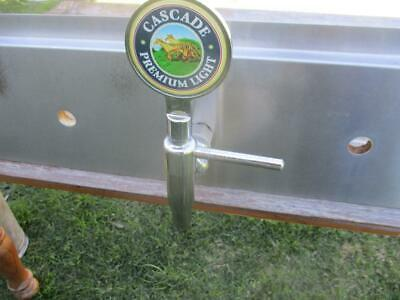 Quality Commercial Brass Chrome Plated Beer Tap With Cascade Premium Light Top