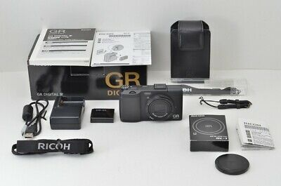 """2,850 Shots"" RICOH GR DIGITAL IV 10.4MP Digital Camera Black Body #190624b"