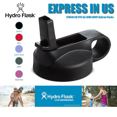 For HYDRO FLASK Straw Lid Cap Wide Mouth Water Bottle For 12 16 18 20 32 40 64oz