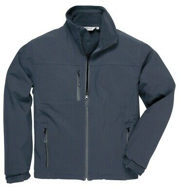 255 Navy Softshell Jacket 3xl TK50NARXXXL Portwest Genuine Top Quality Product