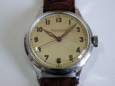Military Jaeger Lecoultre Vintage 1950 Suisse Small