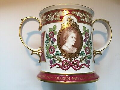 1980 Large SPODE Limited Edition Loving Cup for the Queen Mothers 80th Birthday