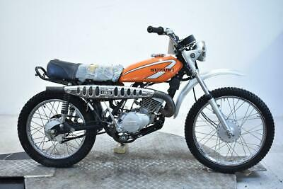 1975 Suzuki TS185M Sierra Unregistered US Import Barn Find Classic Restoration