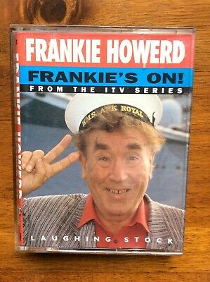 FRANKIE HOWERD. FRANKIE'S ON!. Audio book. Twin cassettes.