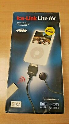 Dension iPod Cradle - With Video