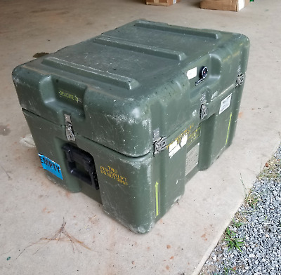 """Pelican Hardigg Case 25"""" x 20"""" x 18""""- Storage & Shipping Crate with foam inserts"""