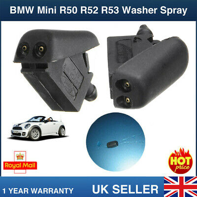1x Jet Spray Nozzle MINI Cooper S R50 R52 R53 Front Windscreen Windshield Washer