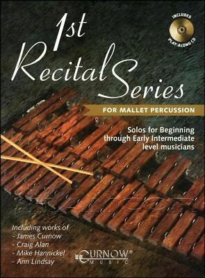 1st Recital Series for Mallet Percussion Sheet Music Book/CD SAME DAY DISPATCH