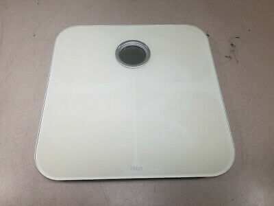 Fitbit Wifi Wireless Smart Scale FB201 White Good Condition Used Tested Working