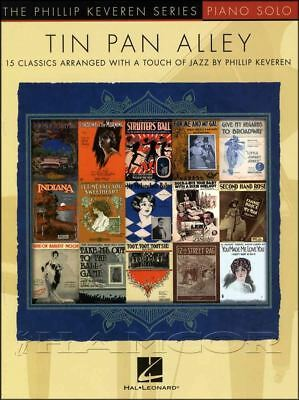 Tin Pan Alley Piano Solo Sheet Music Book Jazz Second Hand Rose Rags
