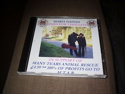 Maria Daines - Paws For Thought CD