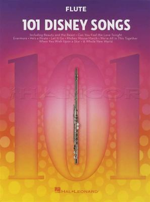 101 Disney Songs for Flute Sheet Music Book Frozen Lion King Toy Story Moana