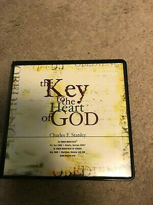 Charles Stanley The Key to the Heart of God 4 CD SET