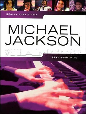 Really Easy Piano Michael Jackson Sheet Music Book