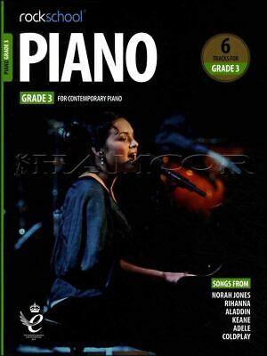 Rockschool Piano Grade 3 from 2019 Music Book/Audio Exam Test SAME DAY DISPATCH