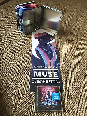 Muse Simulation Theory VIP Lunchbox/Poster & CD  - Marseille 9th July 2019