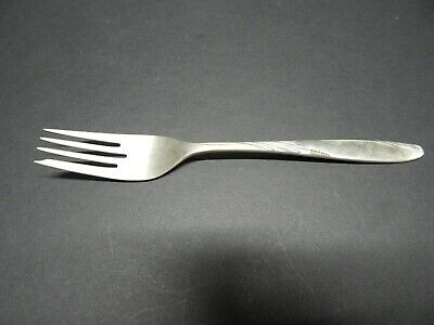 "Willow Salad Fork 7"" (sterling, 1954) by Gorham Silver"