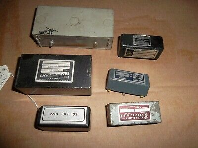 (6) Various Makers - Radio Bandpass Filters - Used Pulls