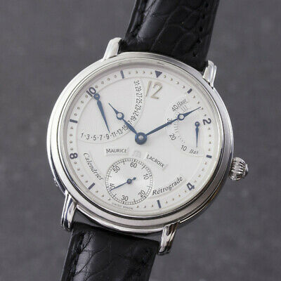 Maurice Lacroix Masterpiece Calendar Retrograde Handaufzug MP6338 VP: 4250 €