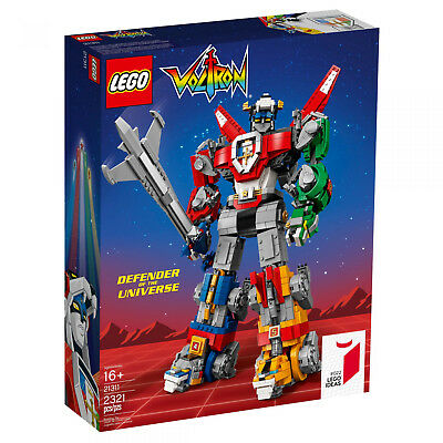 LEGO IDEAS 21311 Voltron Legendary Defender of the UNIVERSE NEU OVP BLITZVERSAND