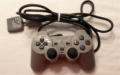 Sony PlayStation 2 PS2 DualShock 2 Analog Controller Official Genuine OEM Gray