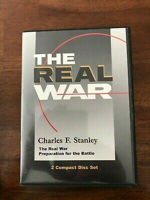 Charles Stanley The Real War Preparation for the Battle 2 CD Set
