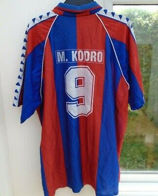 Barcelona Barca Vintage Home Football Soccer Shirt Jersey Top Xxl #9 M.kodro