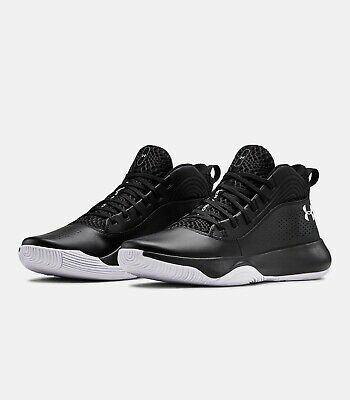 2019 Under Armour Mens UA Lockdown 4 Basketball Black Curry Style Shoes