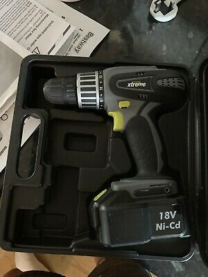 CHALLENGE XTREME 18V CORDLESS DRILL DRIVER FOR WINDOWS MAC