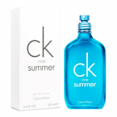 CK One Summer 2018 Unisex Calvin Klein Eau de Toilette Spray 3.4 oz - New Tester