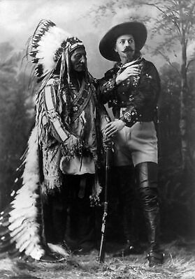 Buffalo Bill Chief Sitting Bull 8X10 Glossy Photo Picture