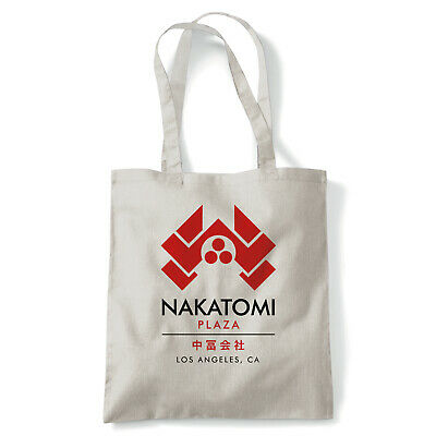 Nakatomi Plaza, Tote - Reusable Shopping Canvas Bag Gift Action Movie Inspired