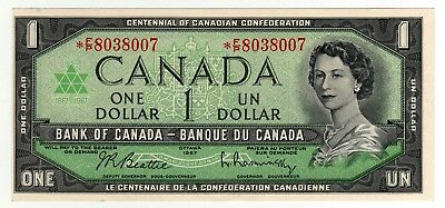 1967 Canada 1 Dollar Replacement Note - *FP8038007 - Out of Register, BC-45bA-i