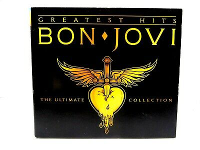 Bon Jovi ♫ Greatest Hits ♫ The Ultimate Collection ♫ 2 CD Digipak Set w/Book
