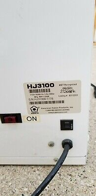 Hakko Soldering Fume Extraction System Model HJ3100 NO FILTER
