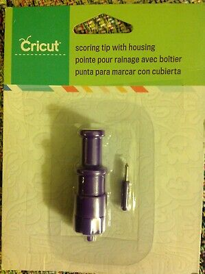 2 Cricut Scoring Tip with Housing  2001330 NEW. $15.50 w/free same day shipping