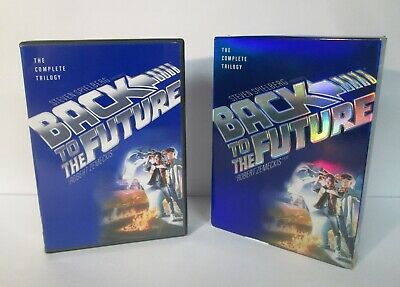 Back to the Future Complete Trilogy DVD Set Full Screen