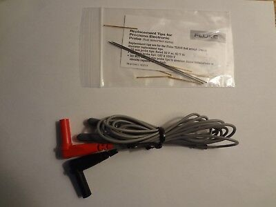 New FLUKE TL910 Electronic Test Probes & TP912 Replacement Tip