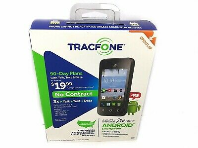 TRACFONE ALCATEL ONETOUCH Pixi Pulsar 4G Android Prepaid