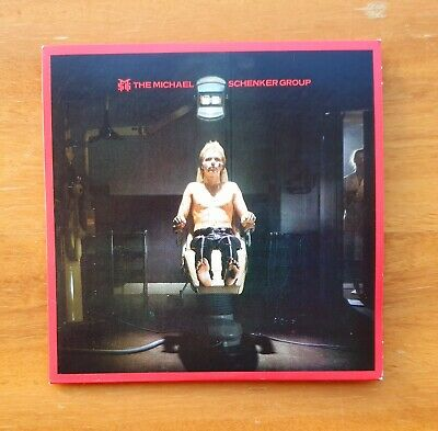 THE MICHAEL SCHENKER GROUP - Self-Titled Debut CD 1980
