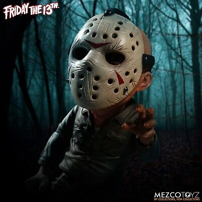 """Friday the 13th JASON VOORHEES 6"""" Stylized Deluxe Figure Mezco Toyz"""