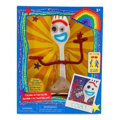 DISNEY Toy Story 4 Forky Talking & Interactive Action 19cm Figure **NEW*