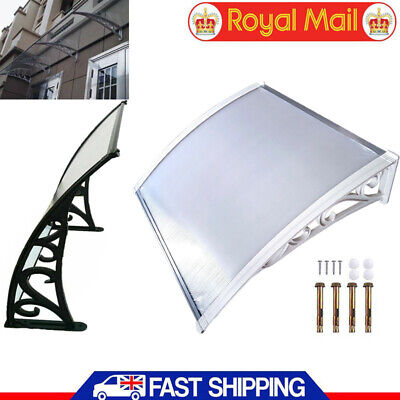 120CM Door Canopy Awning Porch Sun Front Shelter Window Outdoor Patio Rain Cover