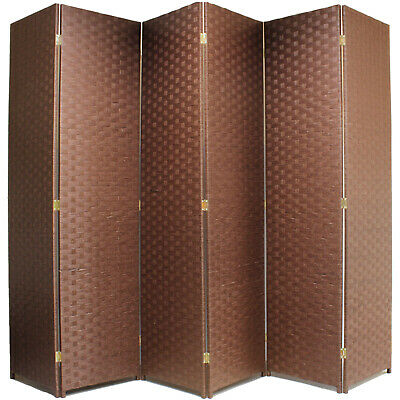 Hand Made Woven Wicker Room Divider/Separator/Panelprivacy Screen Sale #983
