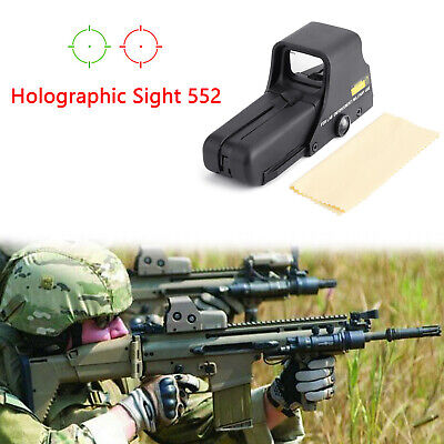 Tactical Holographic Sight Weapon Scope Red & Green Dot 552 US
