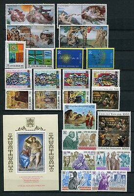 VATICAN 1994 MNH COMPLETE YEAR 29 Items