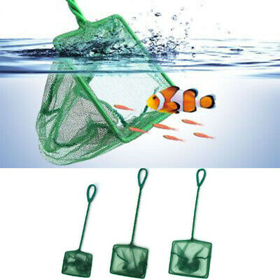 Aquarium Fish Net Small for Tropical Coldwater Marine Tank Netting Scoop 5 Sizes