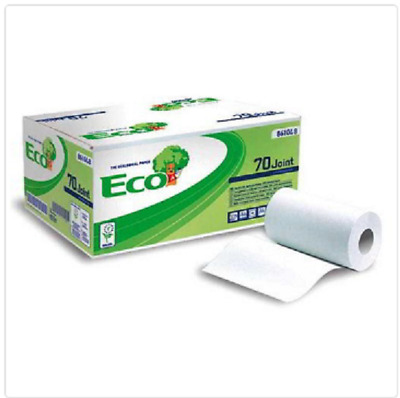 Roll Towels Paper a 2 Veli.monouso M 70 -190 Straps Pack 12 Rolls