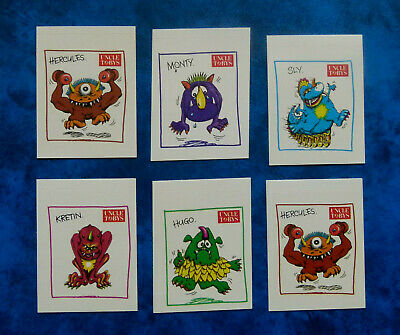 UNCLE TOBY'S ..  Original Vintage  Monster CEREAL stickers